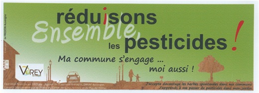 Auto coll Réduction pesticides